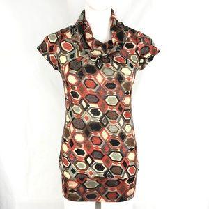 Charlotte Russe Knit Turtleneck Blouse Medium